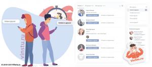 Вконтакте: при добавлении в друзья вк - видно закрытые страницы