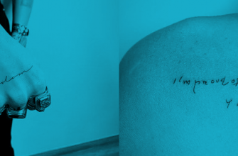 Майли Сайрус поделилась фотографиями новых татуировок в Instagram