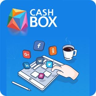 Cashbox получайте подписчиков в группы, лайки, репосты